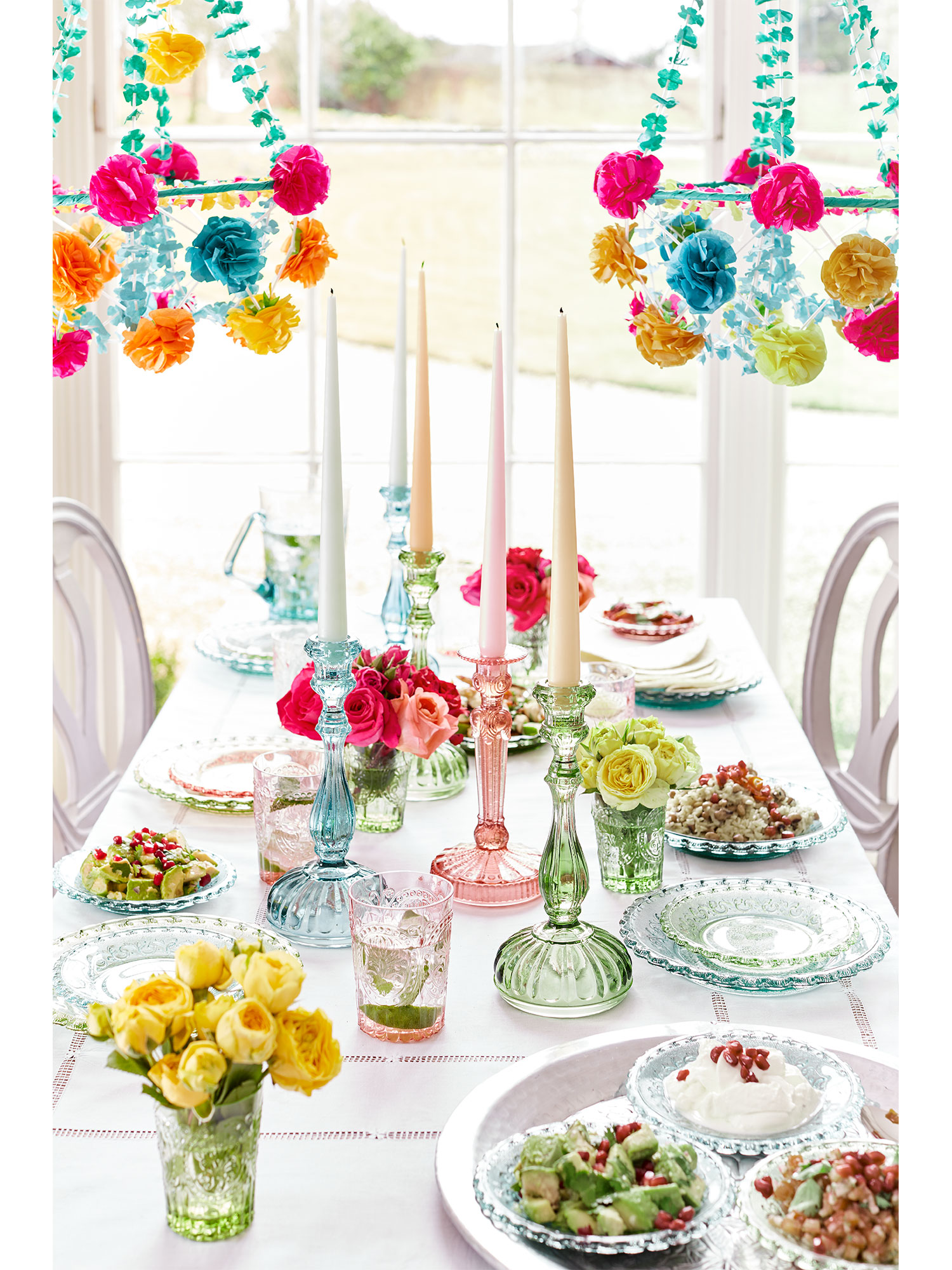 Coloured Glass Plates - Set of Six  sc 1 st  Sophie Conran & Coloured Glass Plates - Set of Six | Sophie Conran Shop