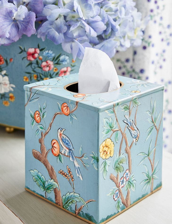 The Official Sophie Conran Shop Millicent Hand Painted Tissue Box Cover